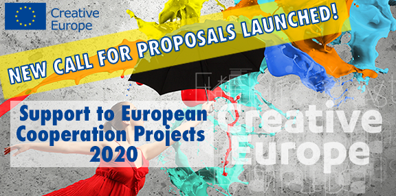 CREATIVE EUROPE - CALL FOR PROPOSALS: Support to European Cooperation Projects 2020